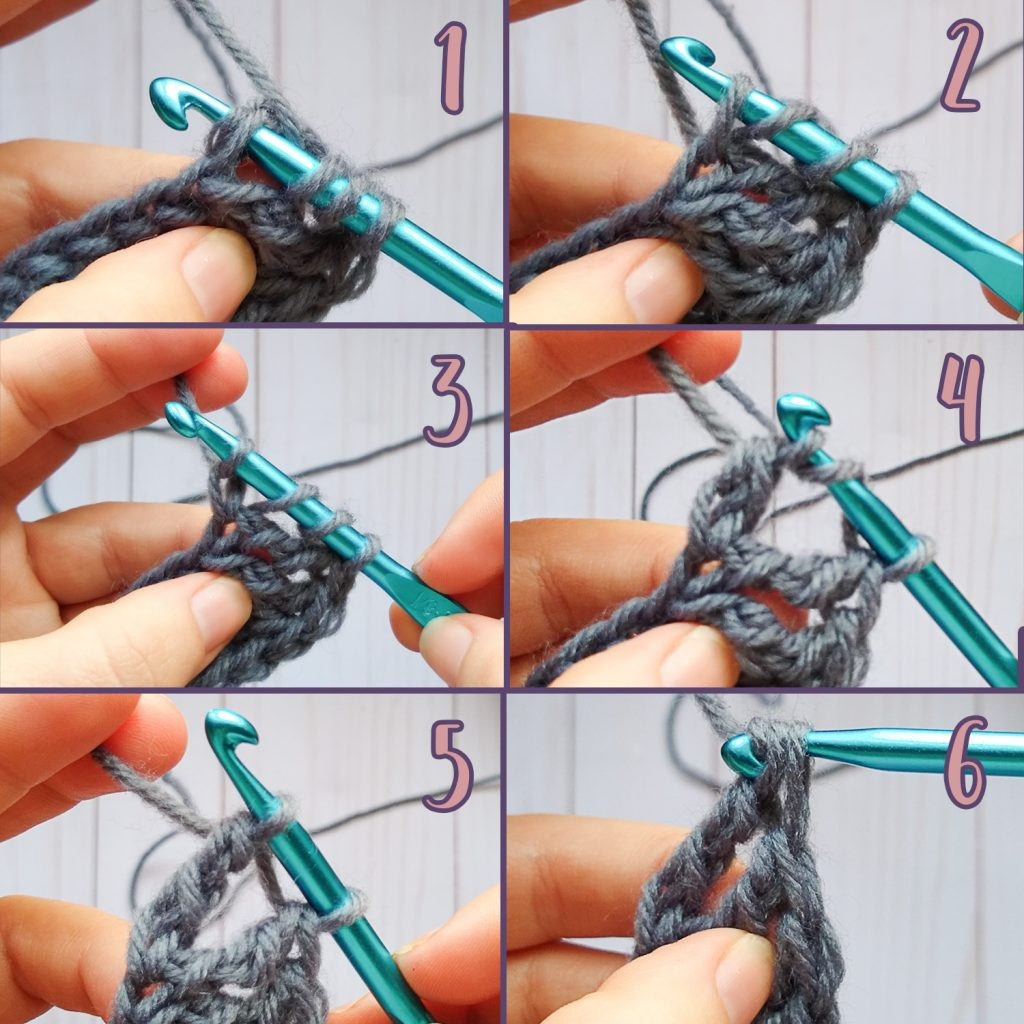 Foundation Treble Crochet instructions